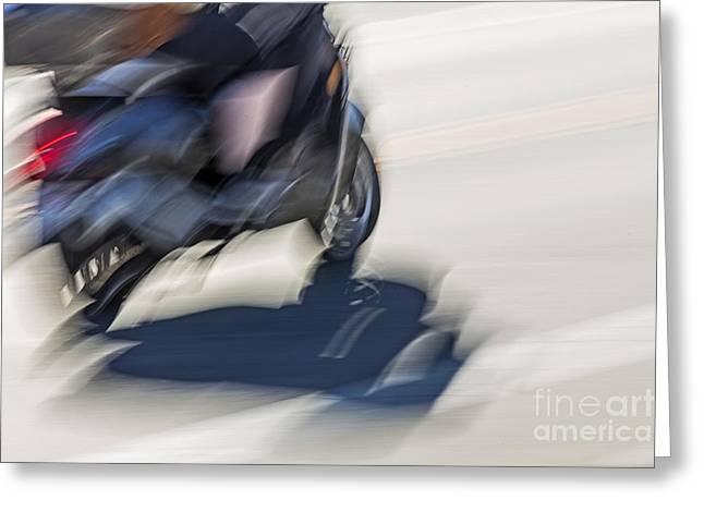 Speed Greeting Card by Kate Brown
