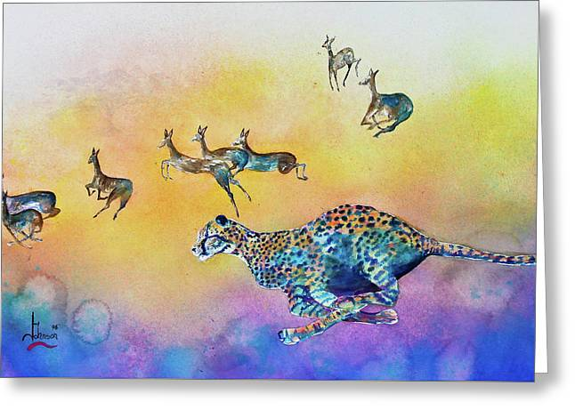 Preditor Greeting Cards - Speed Kills Greeting Card by Larry  Johnson