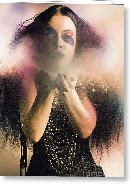 Spellbound By Magic And Fantasy Greeting Card by Jorgo Photography - Wall Art Gallery
