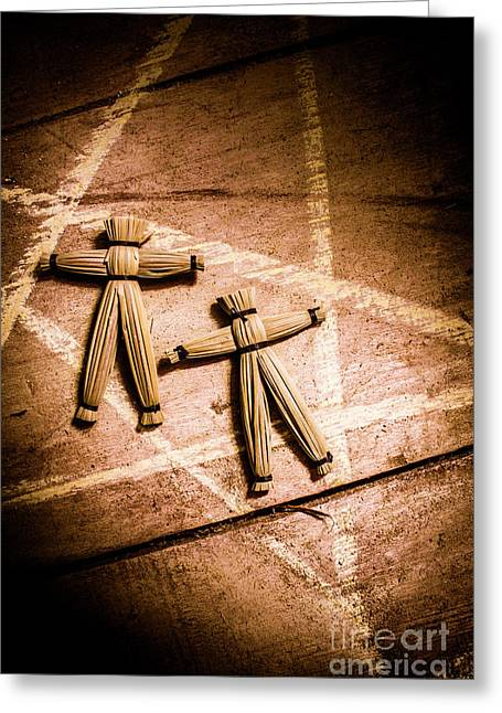 Spells And Rituals Greeting Card by Jorgo Photography - Wall Art Gallery