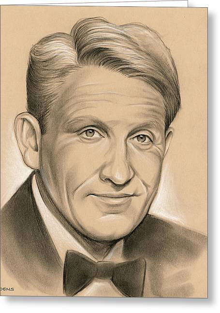 Spencer Tracy 05dec Greeting Card