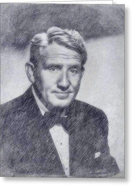 Spencer Tracy Greeting Card