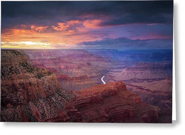 Spendid Light // Grand Canyon National Park  Greeting Card