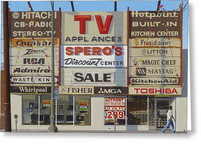 Photorealism Greeting Cards - Spero Greeting Card by Michael Ward