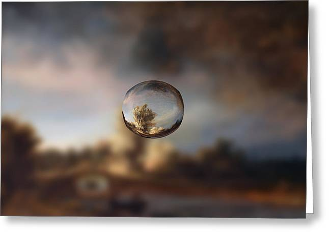 Sphere 13 Rembrandt Greeting Card