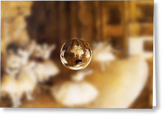 Sphere 15 Degas Greeting Card