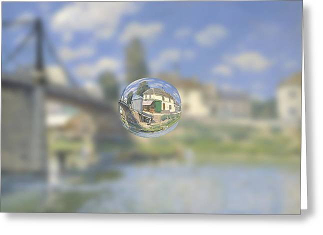 Sphere 18 Sisley Greeting Card