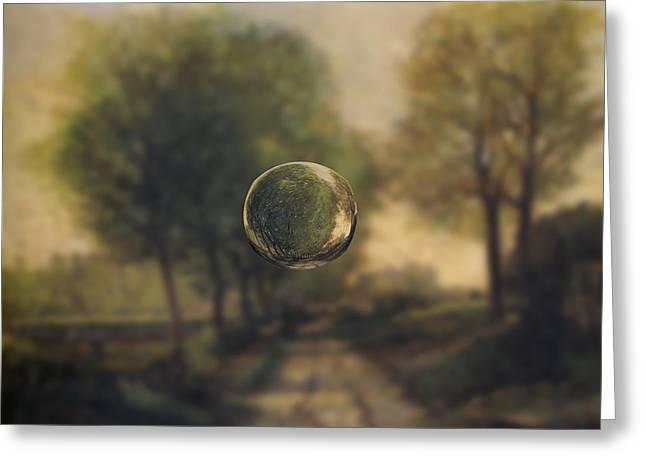 Sphere 20 Sisley Greeting Card
