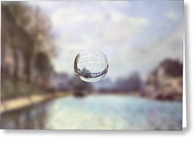 Sphere 23 Sisley Greeting Card