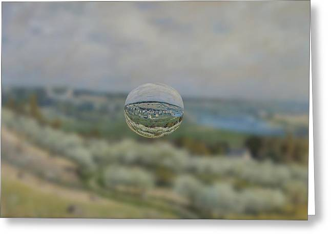 Sphere 24 Sisley Greeting Card