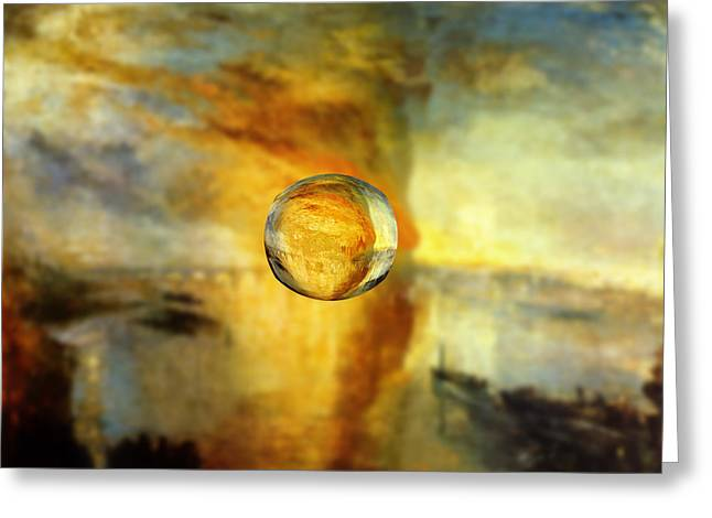 Sphere 26 Turner Greeting Card