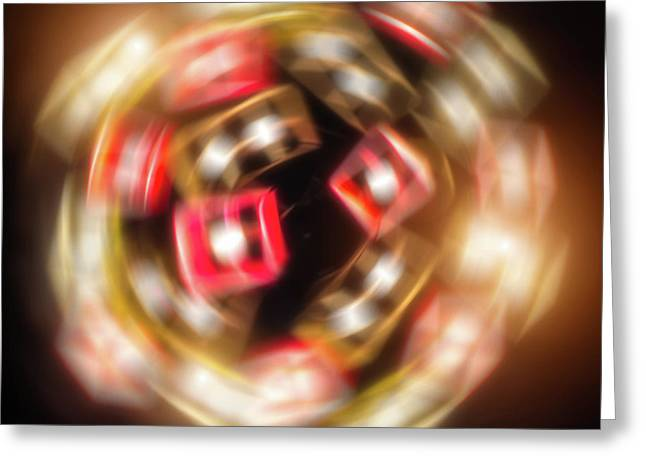 Sphere Of Light Greeting Card