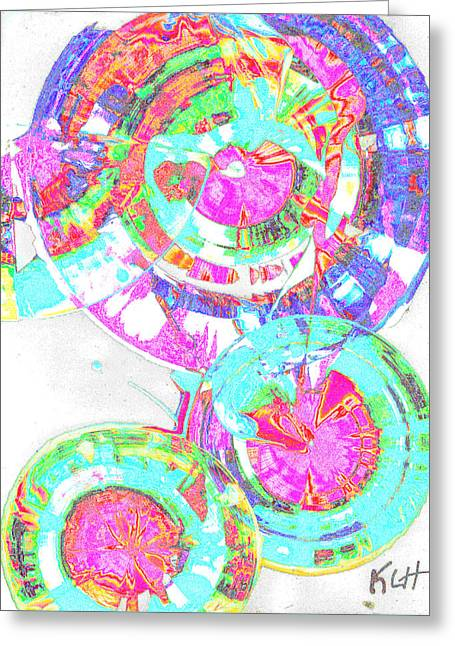 Sphere Series 965.030812vsscinvx3fddfx3 Greeting Card
