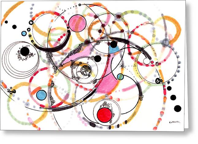 Spheres Of Influence Greeting Card