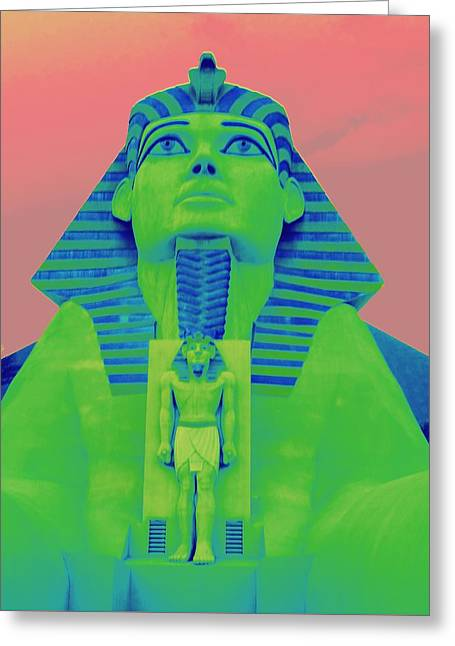 Sphinx At Luxor - 2 Greeting Card