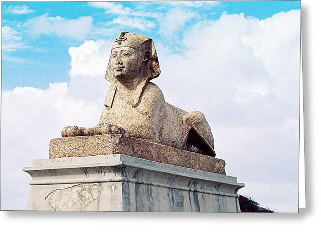 Sphinx Greeting Card