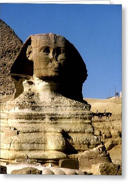 Sphinx Greeting Card