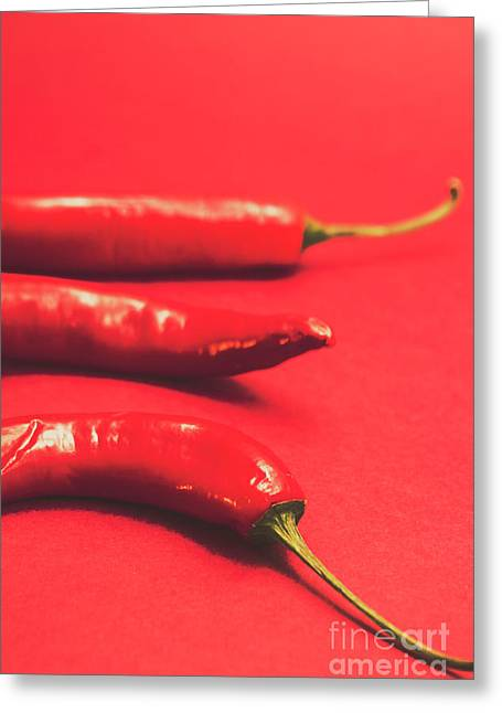 Spice Of Still Life Greeting Card