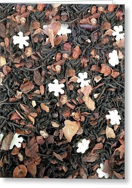 Spiced Tea Detail Greeting Card