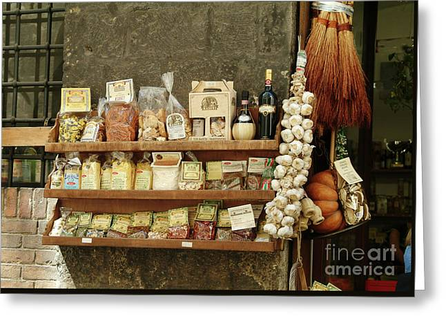 Spices And Condiments Greeting Card
