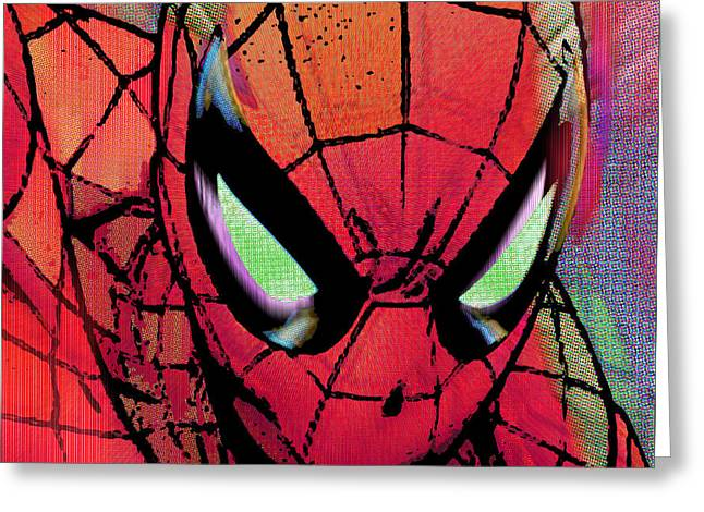 Spider-man Pop  Greeting Card