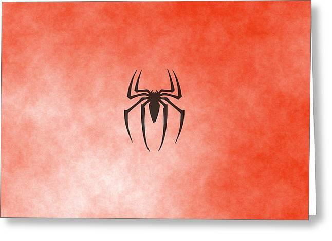 Spiderman Logo Greeting Card by Comic Memories