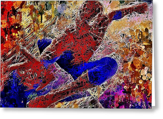 Spiderman 2 Greeting Card