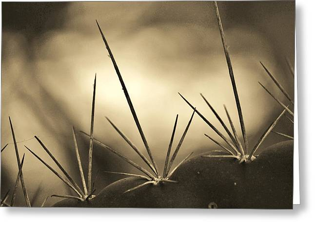 Spiked Greeting Card