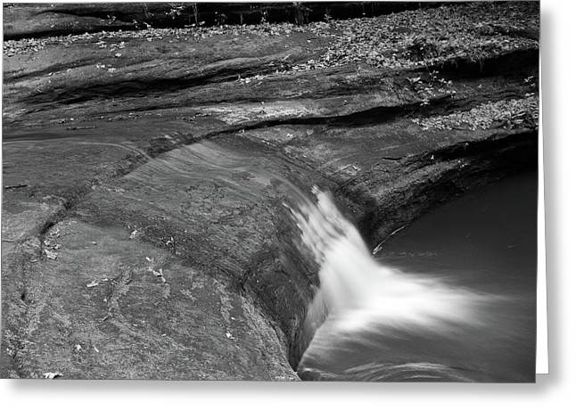 Starved Rock Park Greeting Cards - Spill Greeting Card by Jason Wolters