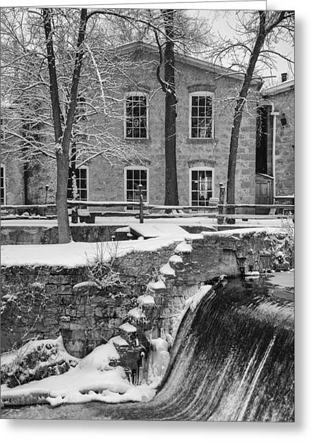 Spillway Greeting Card by Jeff Klingler