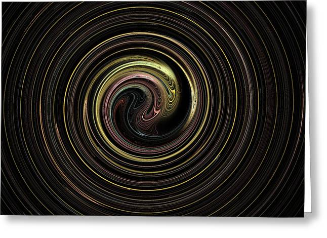 Spin Cycle 02 Greeting Card
