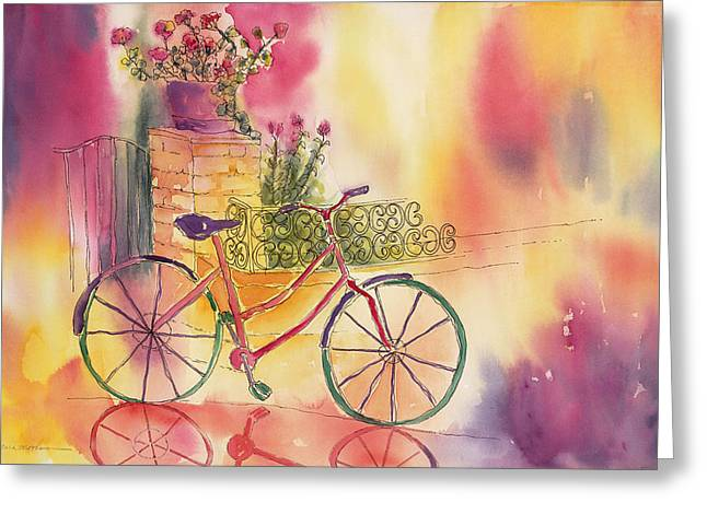 Spindly Spokes Greeting Card