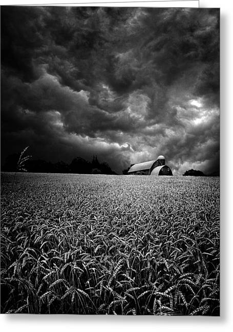 Tornado Greeting Cards - Spinning Greeting Card by Phil Koch