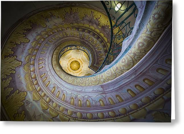 Spiral Staircase Melk Abbey I Greeting Card
