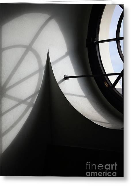 Spiral Window Greeting Card by Ana Mireles