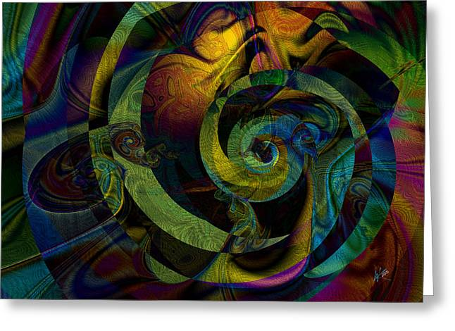 Spiralicious Greeting Card