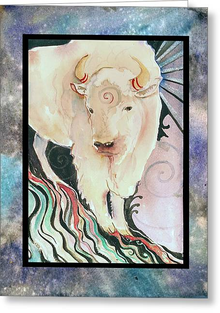 Spirit Buffalo Greeting Card