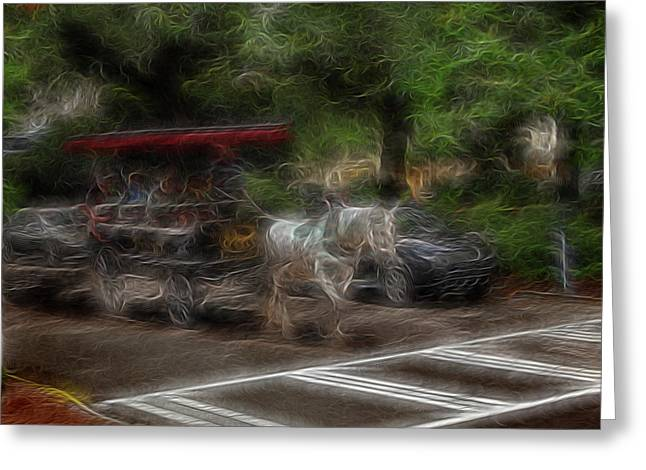 Spirit Carriage 1 Greeting Card by William Horden