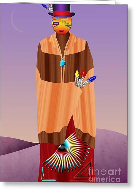 Spirit Civilized Greeting Card