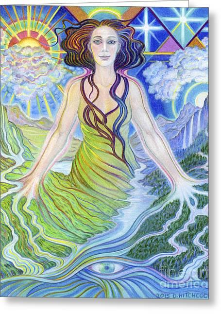 Spirit Guide Reyanne Greeting Card