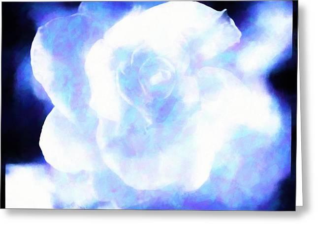 Spirit Of A Rose Greeting Card