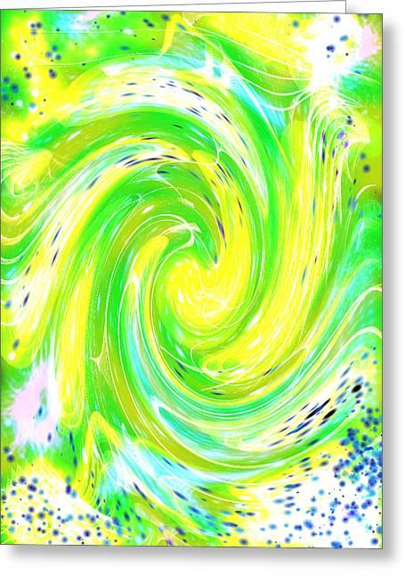 Spirit Of Nature I I Greeting Card