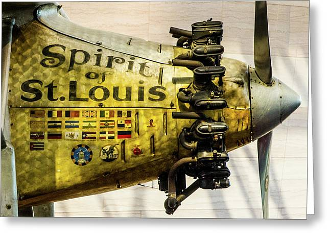 Spirit Of St Louis Greeting Card