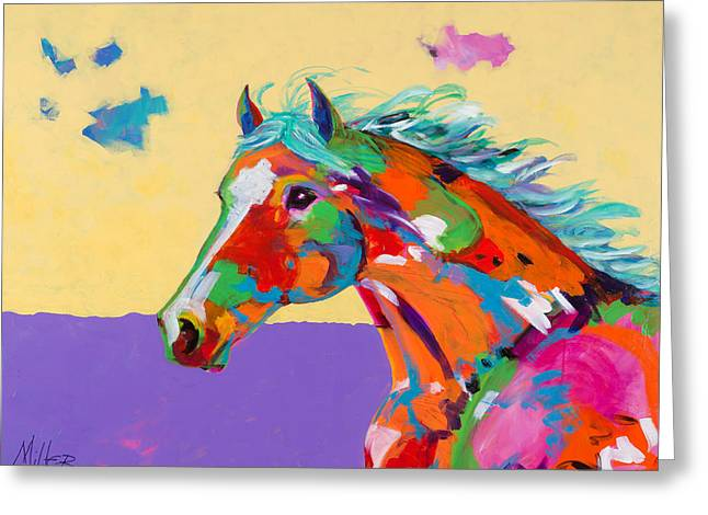 Tracy Miller Greeting Cards - Spirit of the Plains Greeting Card by Tracy Miller
