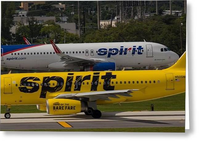 Spirit Spirit Greeting Card