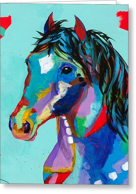 Spirited Greeting Card by Tracy Miller