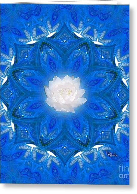 Spiritual Art - To Purify Your Mind And Soul By Rgiada Greeting Card by Giada Rossi