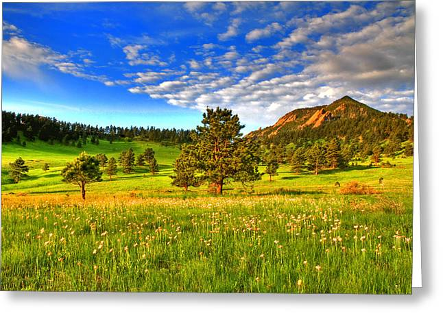 Colorado Greeting Cards - Spiritual Sky Greeting Card by Scott Mahon