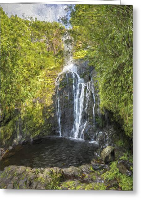 spiritual splash II Greeting Card by Jon Glaser