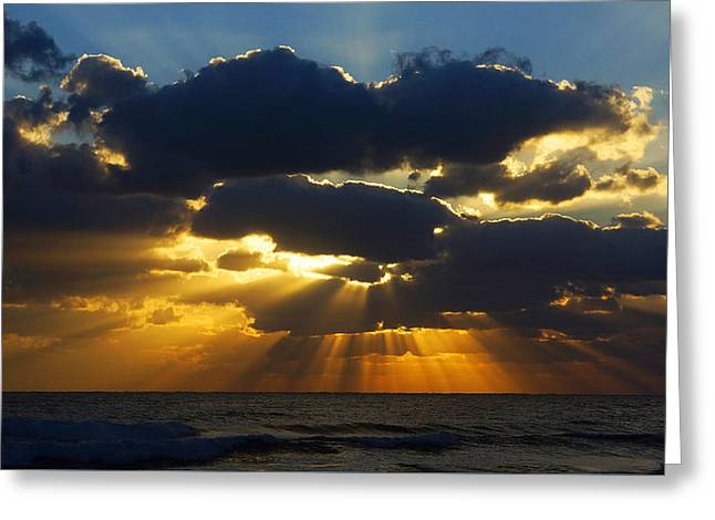 Spiritually Uplifting Sunrise Greeting Card